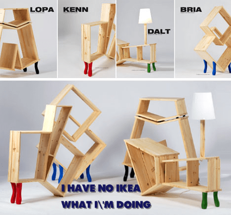 furniture hacks ikea funny
