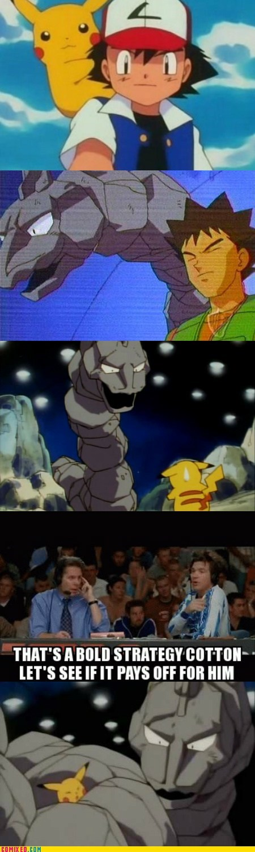 brock Pokémon dodgeball pikachu funny onix - 7409615872
