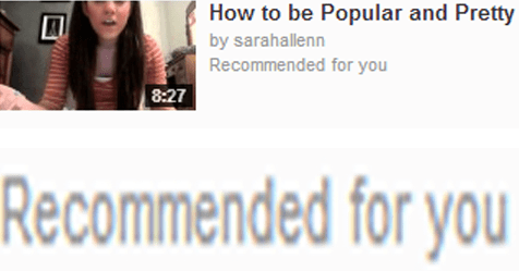 recommendations youtube popularity - 7409926144