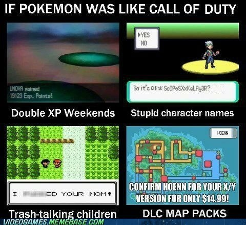 call of duty,Pokémon,DLC,gamertags