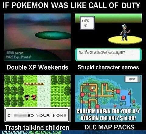 call of duty Pokémon DLC gamertags - 7410624768