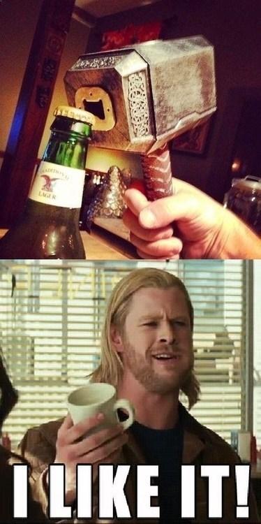 botttle opener,Thor,mjolnir