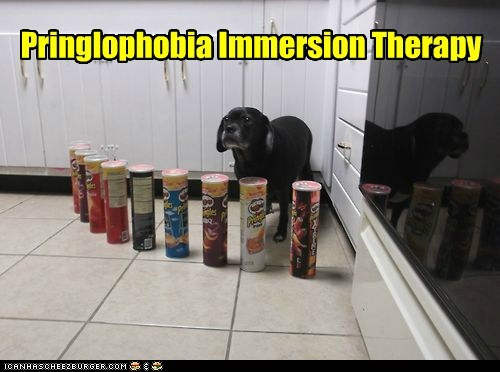 Pringlophobia Immersion Therapy