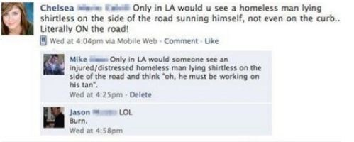 los angeles socal california homeless people tanning hobos failbook g rated - 7410994176