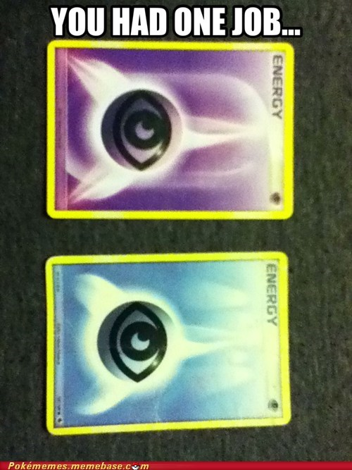 Pokémon TCG you had one job energy cards misprints