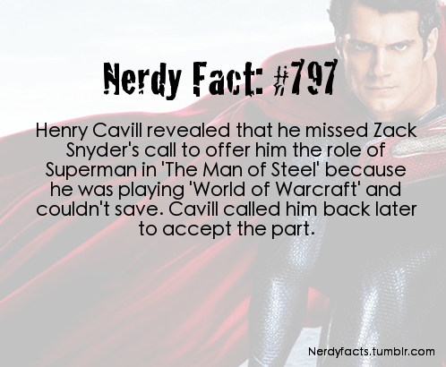 nerdy facts the man of steel superheroes superman - 7411464448