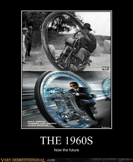 THE 1960S Now the future