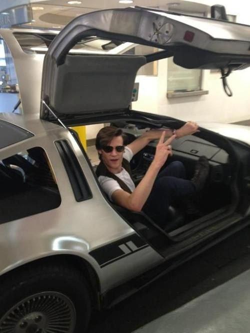 DeLorean Matt Smith - 7411557376