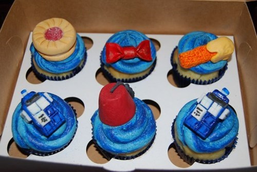 nerdgasm,doctor who,cupcakes,dessert