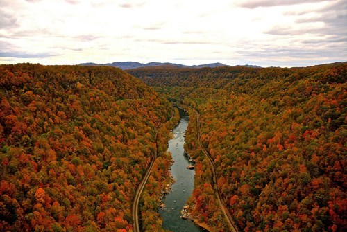 river landscape fall - 7412606976