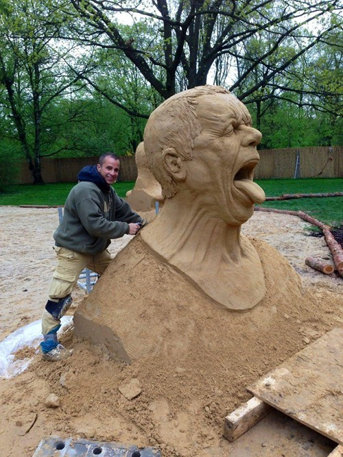 art sand sculpture design sand - 7412613888