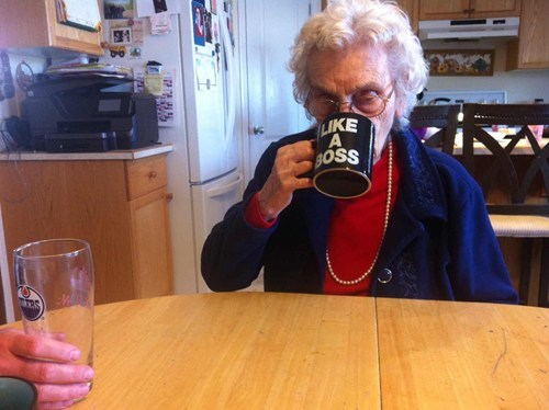 coffee mug grandma OG Parenting FAILS
