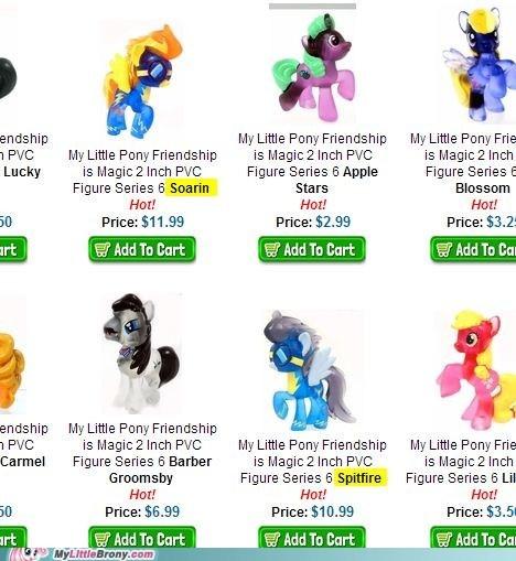 ponies toys spitfire wonderbolts - 7414517504