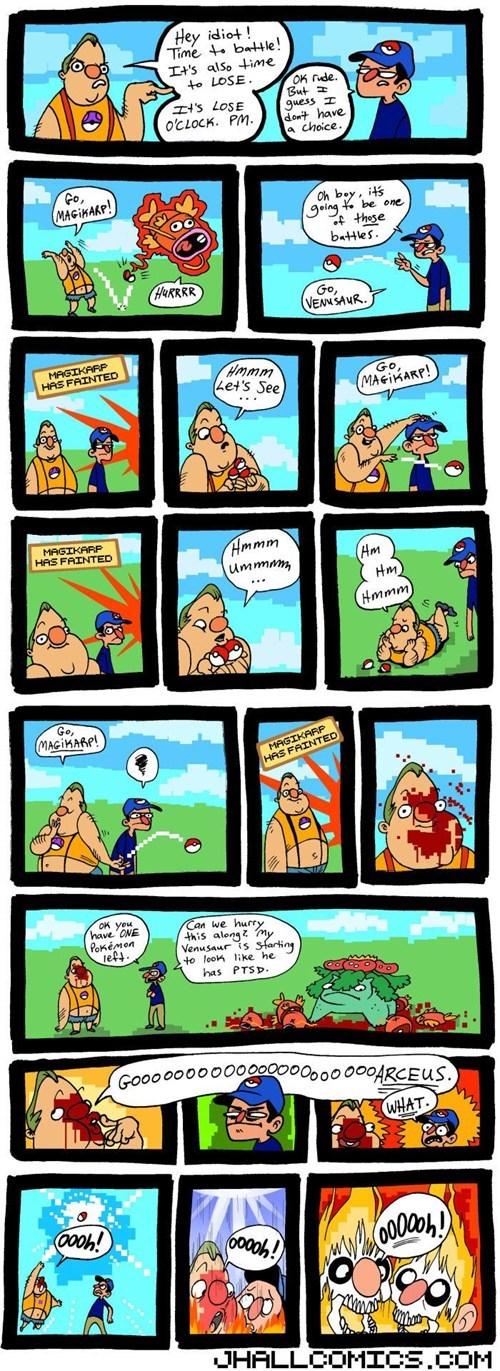 jhallcomics magikarp comics arceus - 7414537216