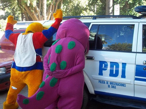 barney arrested police - 7414735616