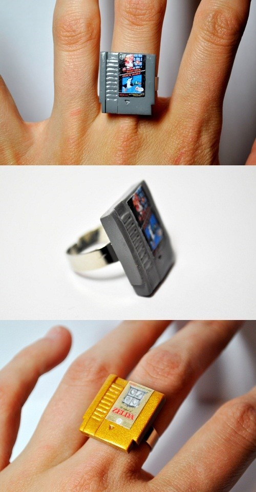 Show How Much You Love Cartridges With Some Awesome NES Rings