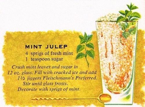 booze summer mint julep recipe