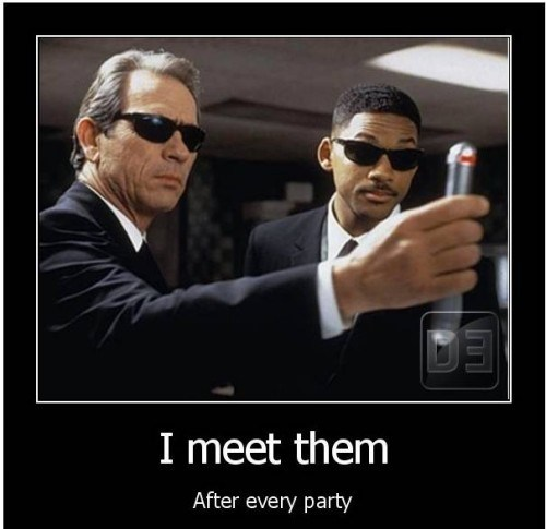 MIB black out Party - 7415283712
