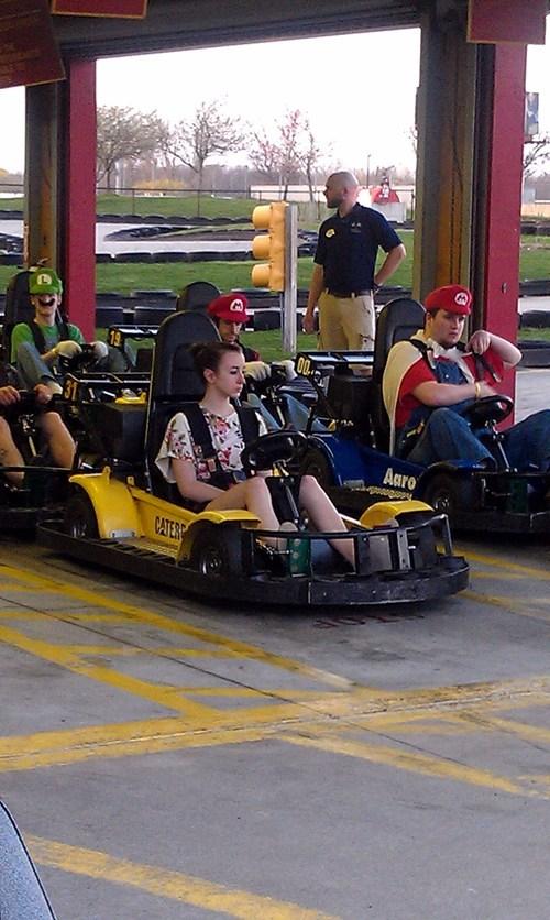 cosplay Mario Kart nerdgasm