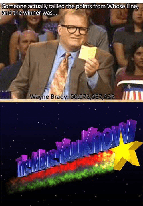 Fun Fact,whose line is it anyway,true facts,funny