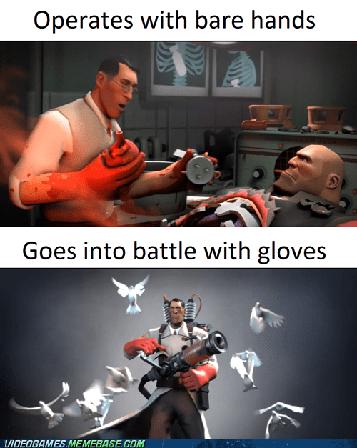 heavy medic Team Fortress 2 funny - 7415649792