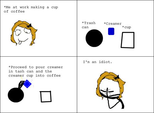 scumbag brain coffee