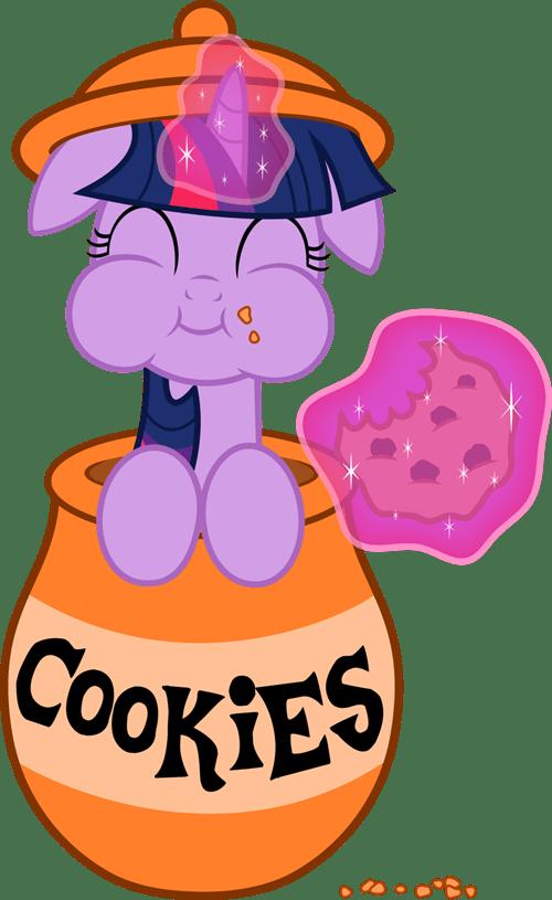 art twilight sparkle cookies magic - 7415949824