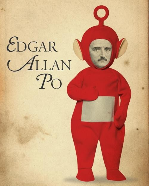 teletubbies Po edgar allen poe - 7416182272