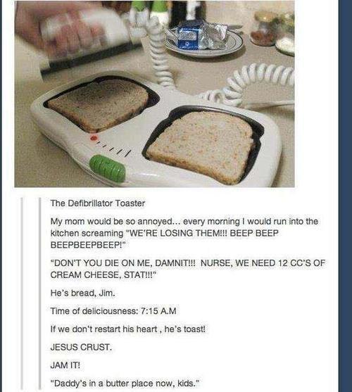 puns,bread,toast