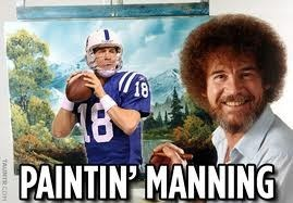 payton manning painter bob ross - 7416276736