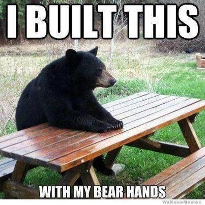 strong,bear,bare