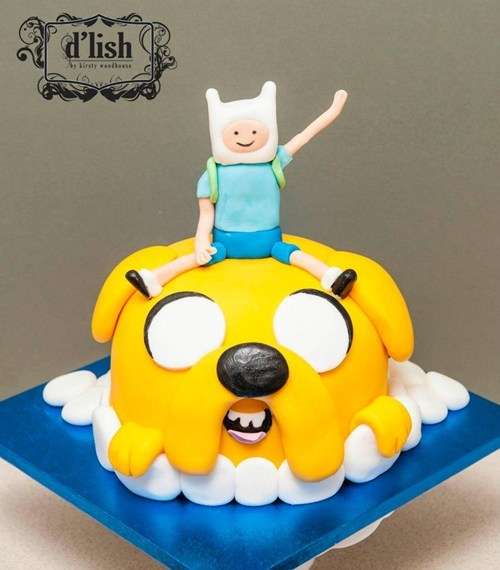 cake cartoons adventure time - 7418614784