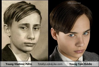 tom riddle totally looks like youth Vladimir Putin - 7419438336