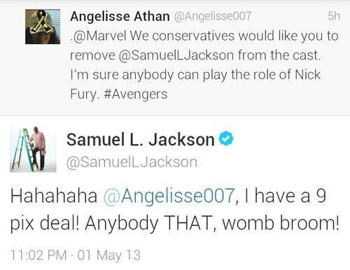 twitter Samuel L Jackson funny - 7420214784