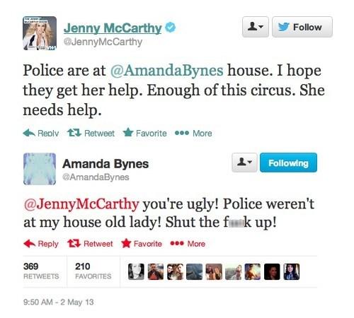 Amanda Bynes celeb jenny mccarthy - 7420587520