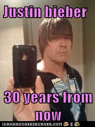 Justin bieber   30 years from now