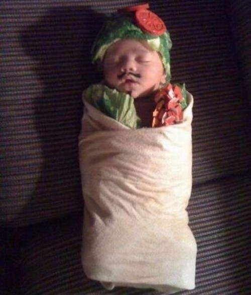 burrito baby,burrito,chipotle,g rated,Parenting FAILS