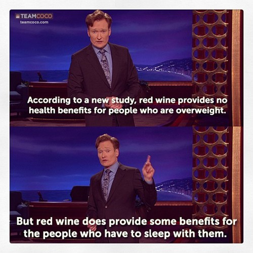 wine relationships funny conan o' brien - 7421098240