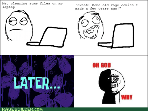 making rage comics oh god why funny - 7421112576