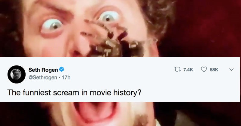 twitter Seth Rogen Home Alone movies social media funny - 7421189