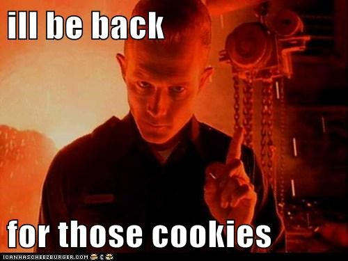 The Terminator ill-be-back cookies - 7422135808