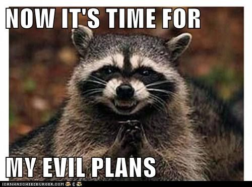 raccoon evil sinister funny - 7422405376