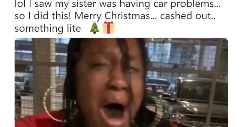 christmas heartwarming christmas gifts reaction - 7422725