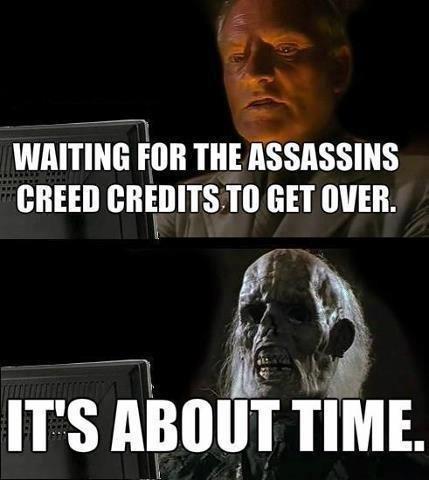 assassins creed credits - 7422834944