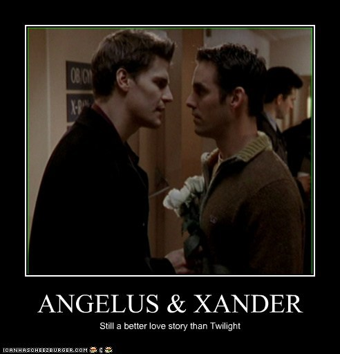 ANGELUS & XANDER Still a better love story than Twilight
