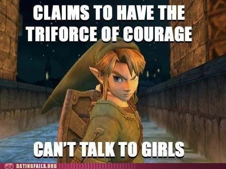 link legend of zelda courage triforce - 7424308224