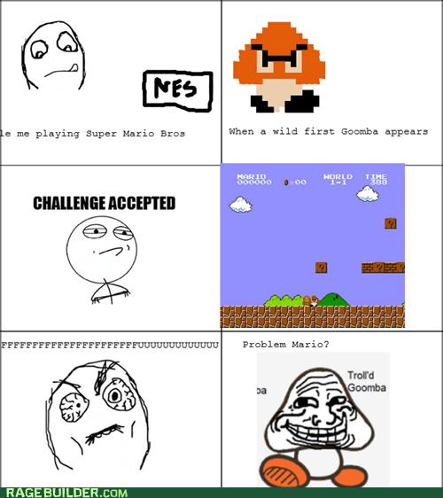 goomba,Super Mario bros
