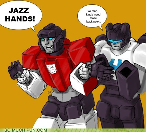 ouch transformers jazz hands - 7424749824