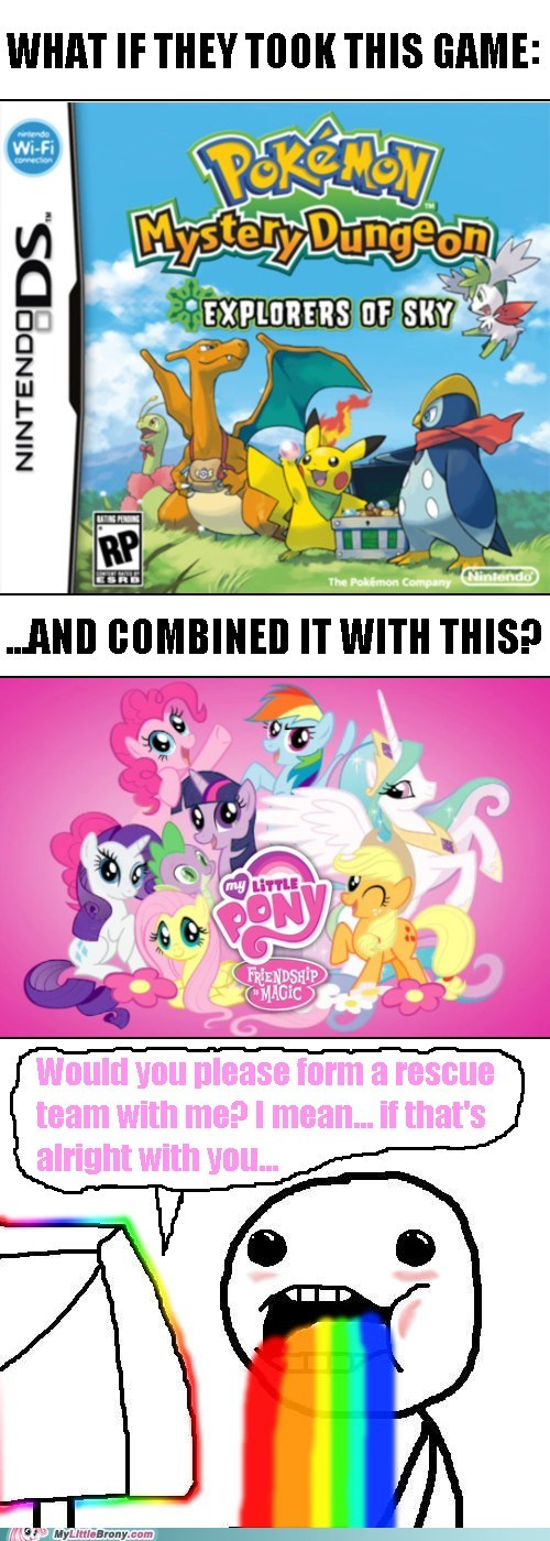 Pokémon my little pony mystery dungeon funny - 7425223680