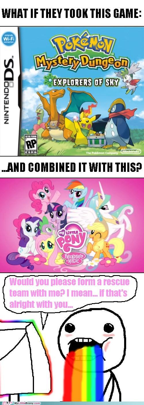 Pokémon my little pony mystery dungeon funny - 7425223680